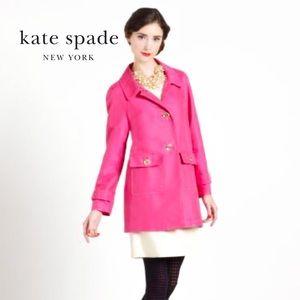 Kate Spade Pink Noura Cafe Coat